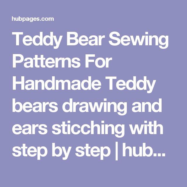 Stuffed 5461 Pattern Bear Simplicity