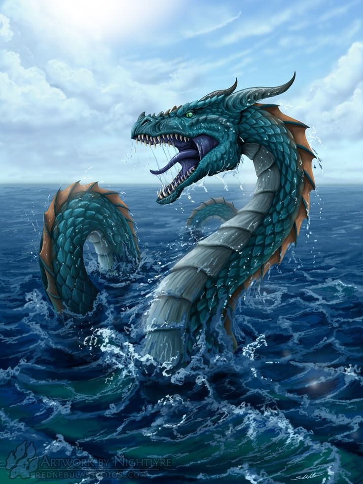 World Serpent Norse Mythology