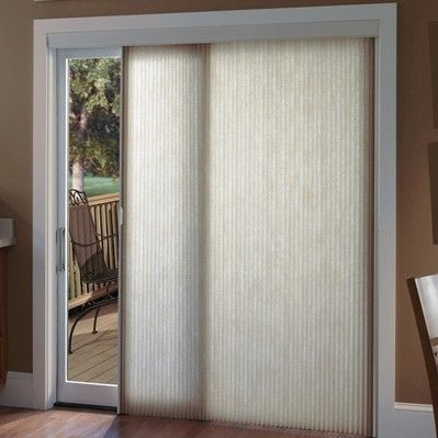 Cellular Sliders Are A Great Choice For Patio Door Blinds