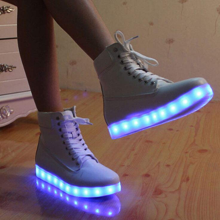 Real Led Light Shoes