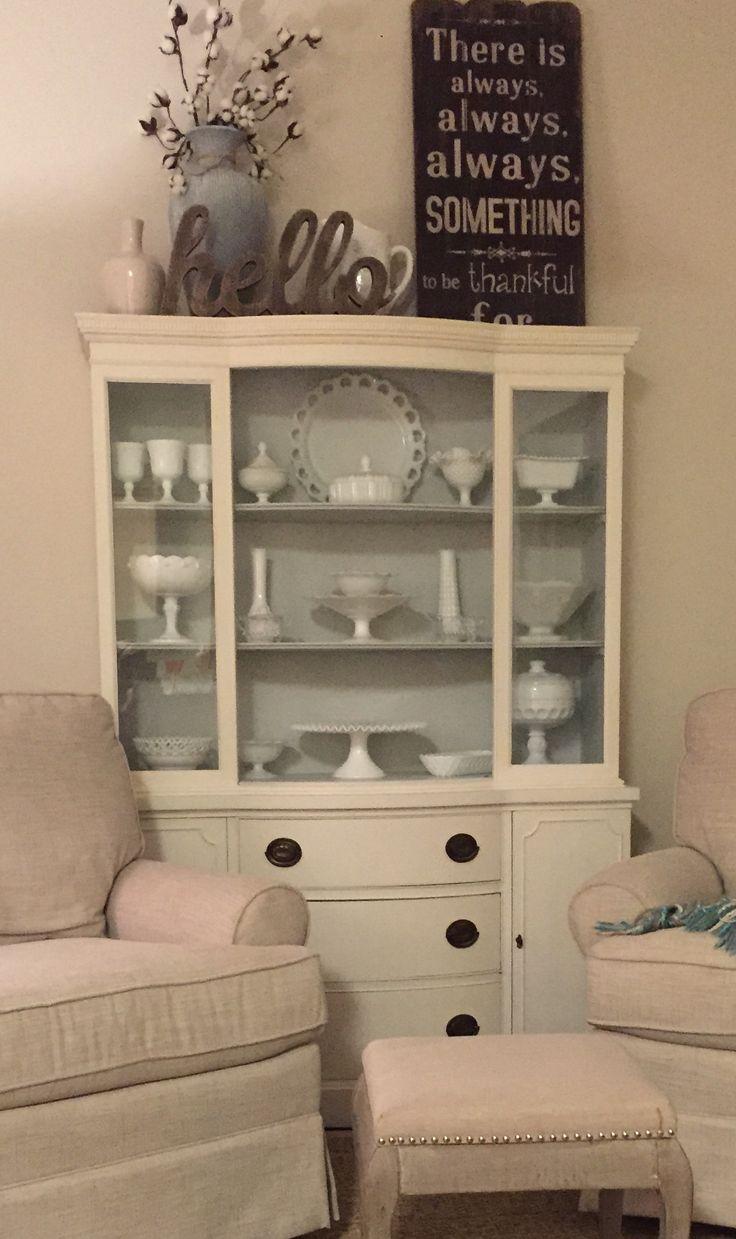 Christmas Decor Over Cabinets