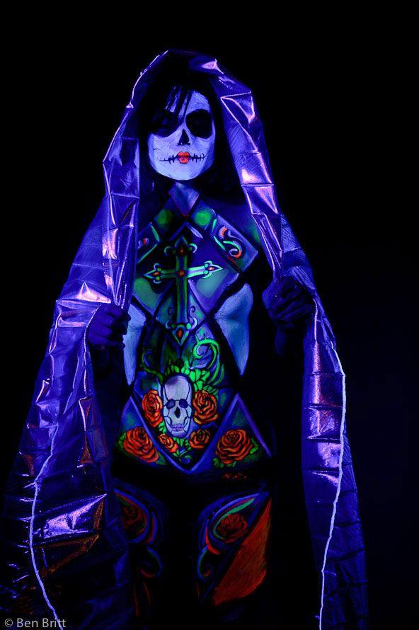 Glow Dark Body Paint