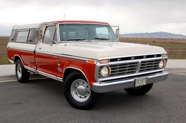 Door F Ford 250 1975 Four