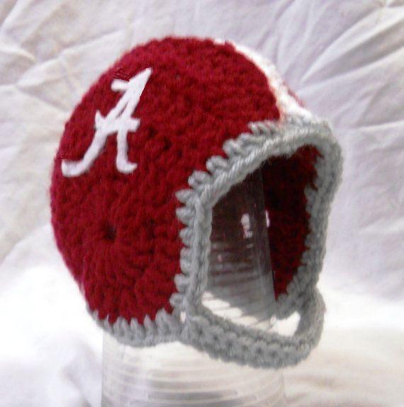 Free Pattern Crocheted Football Helmet