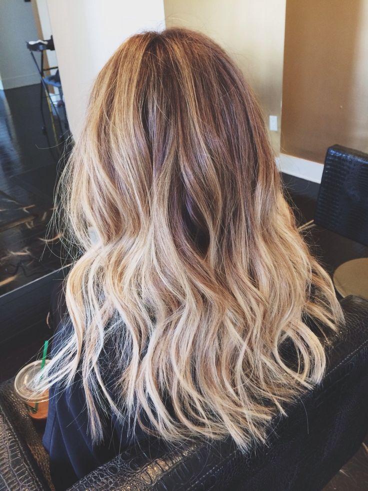 Brown Light Blonde Hair
