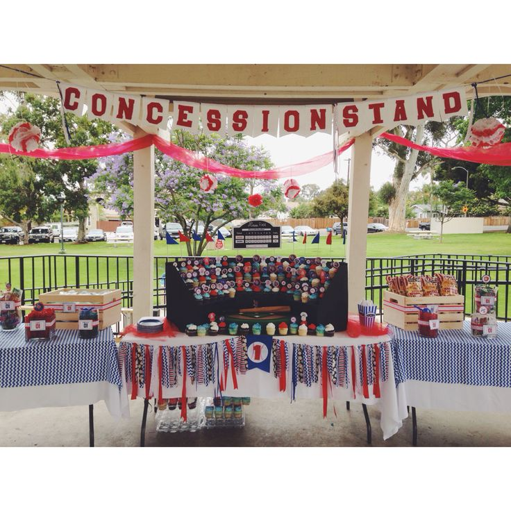 Concession Stand Ideas High School Display