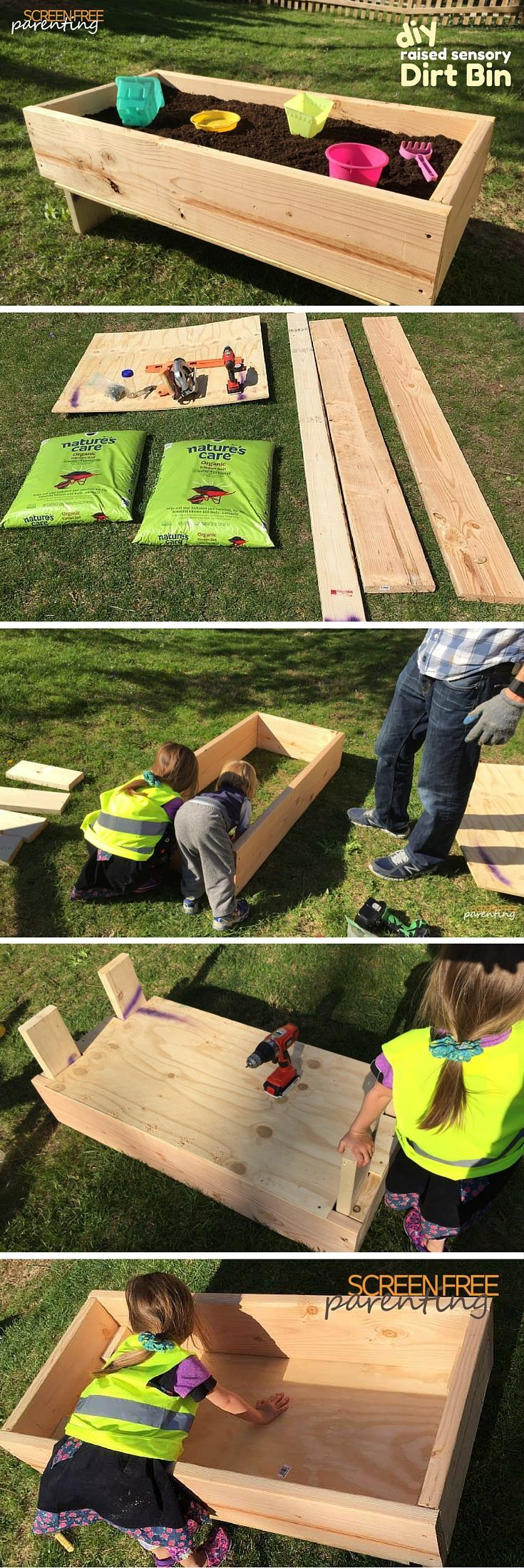 Let Your Kids Get Dirty With A Diy Dirt Box How To Build