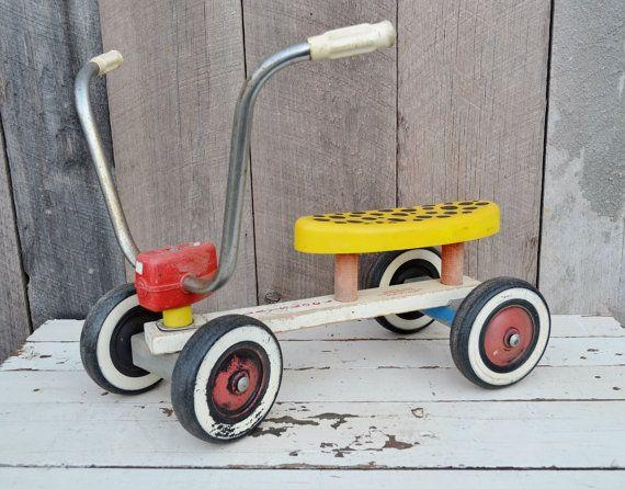 1970 Fisher Price Toddler Bike