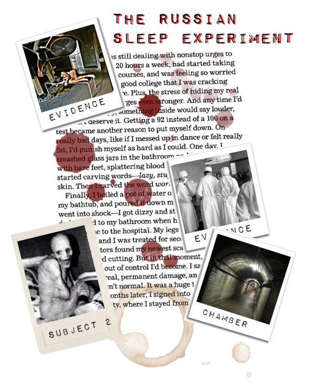 Russian Sleep Experiment Creepypasta