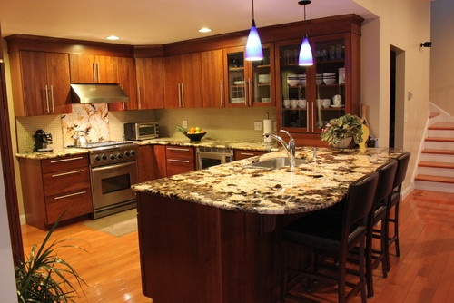 U Kitchen Design Layouts