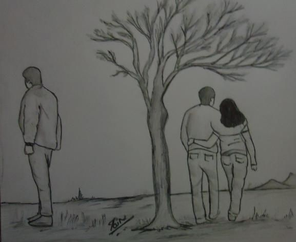Love You Drawings I Sad