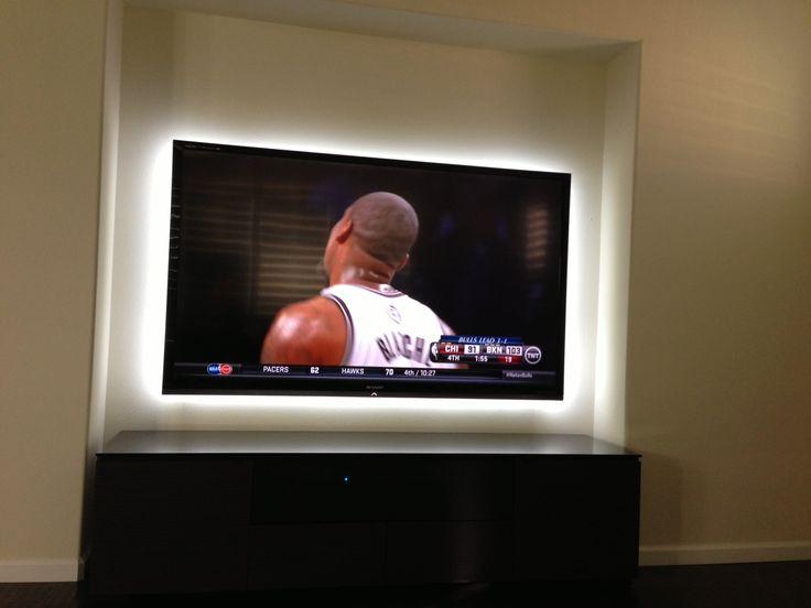 Tv Led Lights Behind It