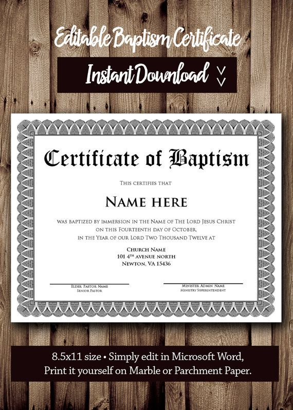 Make Your Own Baptism Invitations Free