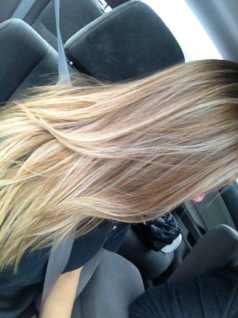 Light Brown Very Hair Blonde Highlights