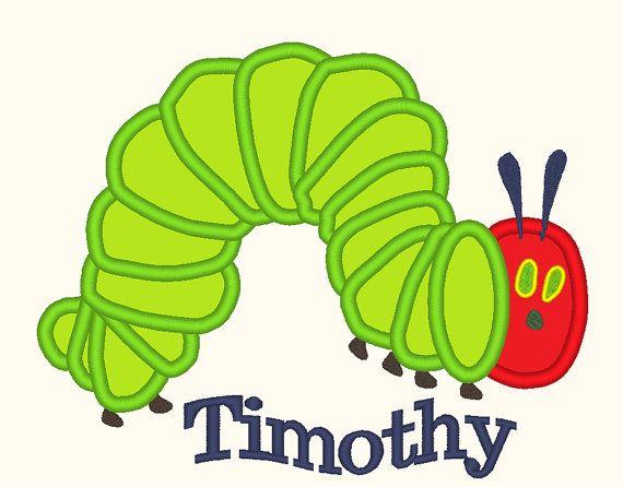 Very Hungry Caterpillar Applique Design