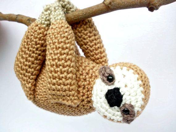 Crochet Sloth
