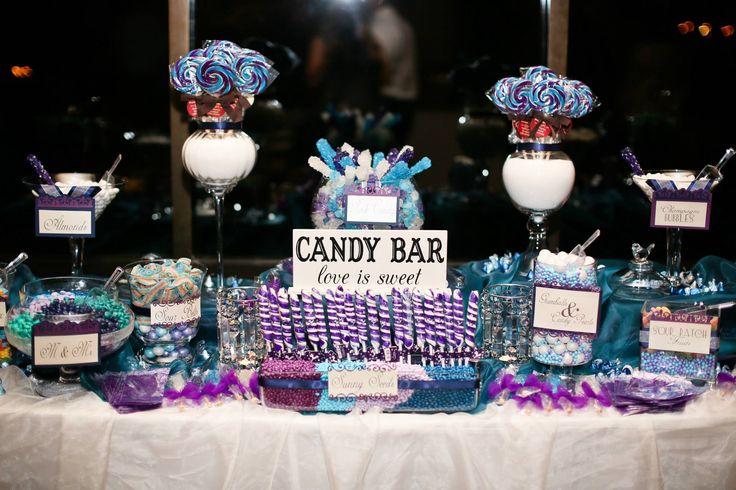 Purple Bridal Shower Ideas