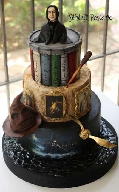 681 Best Images About Harry Potter Cakes On Pinterest