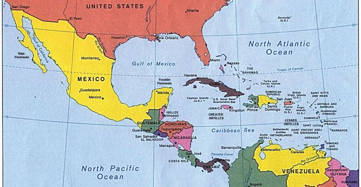 Panama And Mexico Together