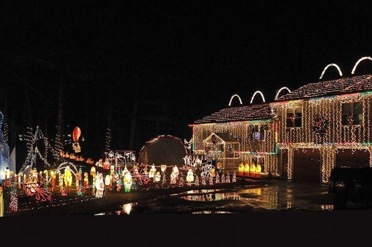 Christmas Light Display Midlothian Va