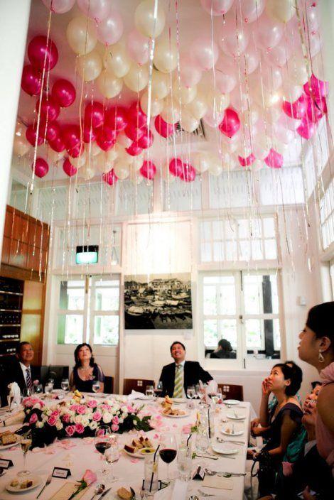 Polka Balloons Pink Dot
