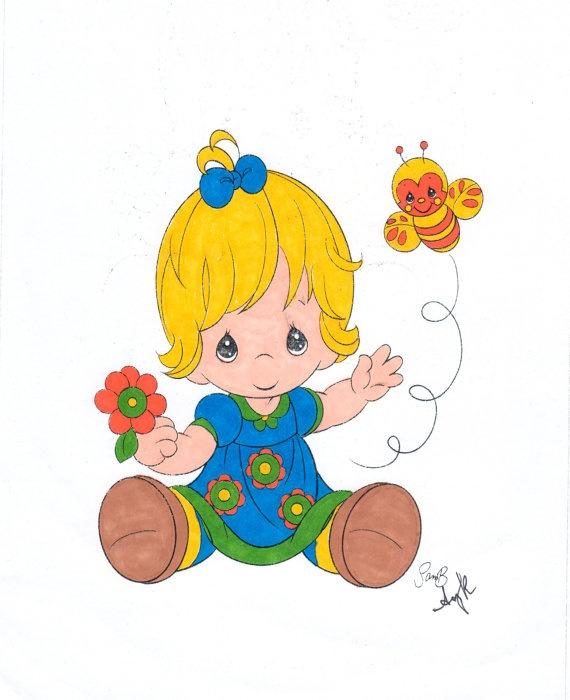 Precious Moments Baby Clip Art