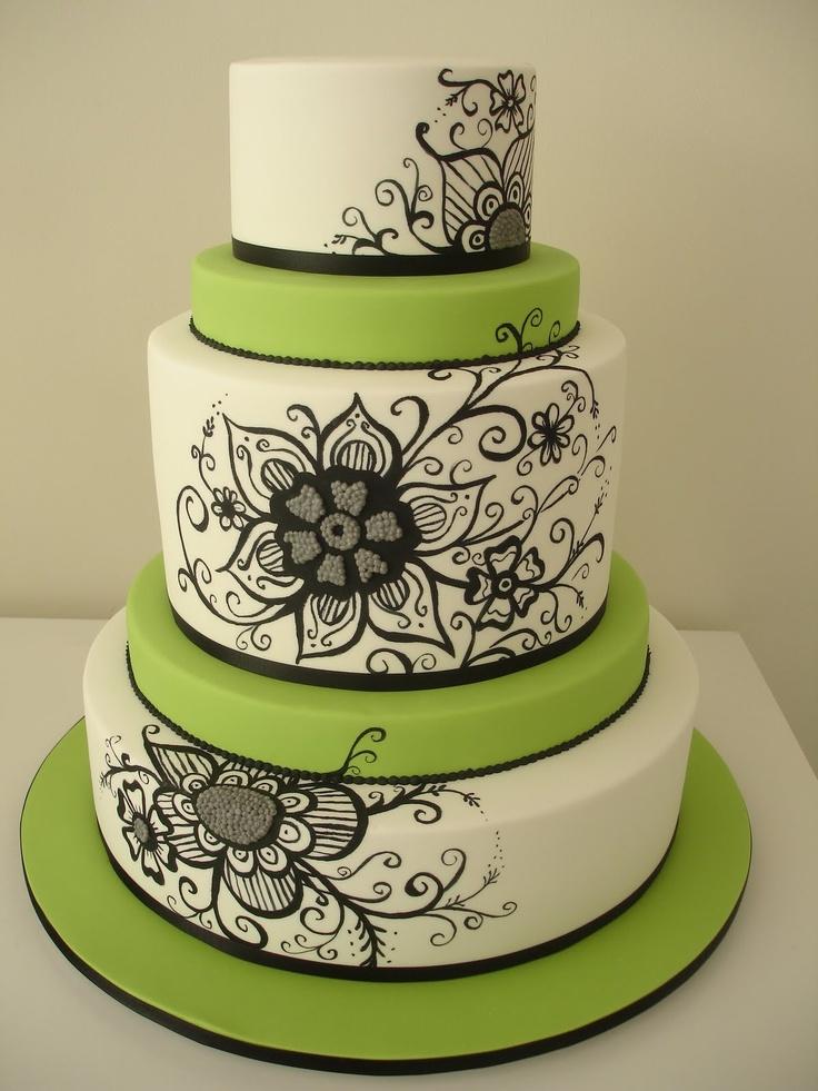 Small Tiered Wedding Cake Flowers