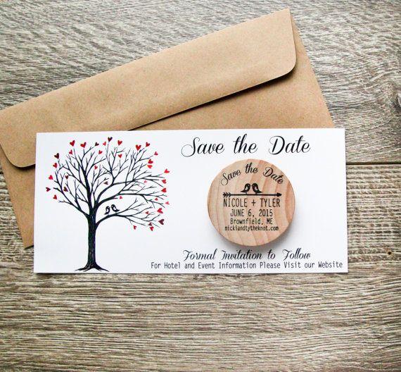 Custom Made Save Date Cards