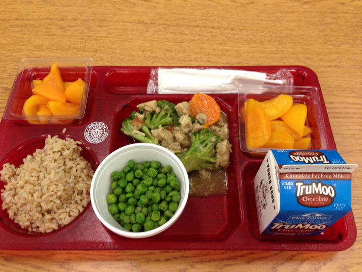 Fry Elementary Lunch Menu