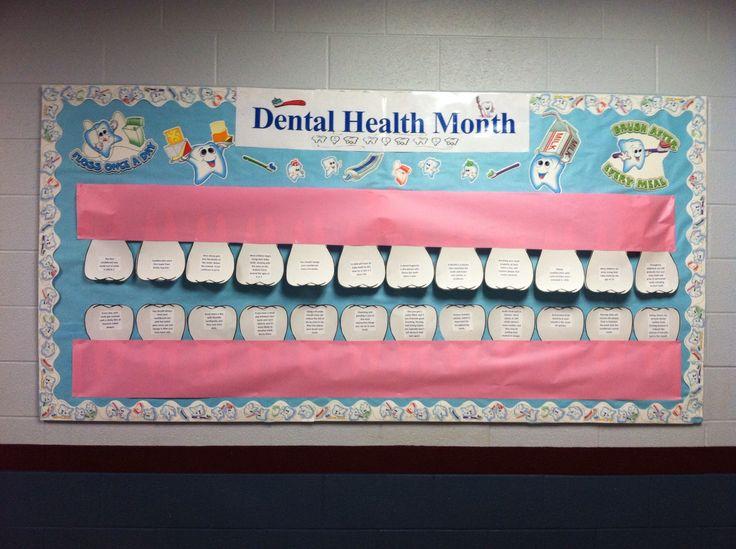 Dental Health Bulletin Board Ideas