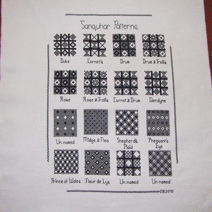 Fair Isle Sampler Scarf Pattern