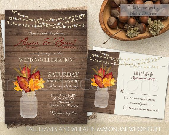 Cheap Rustic Country Wedding Invitations