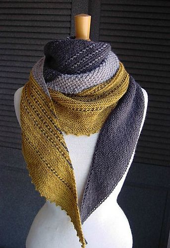 Knitted Scarf One Row Printable