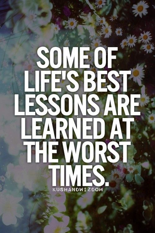 Best Lessons Learned Life