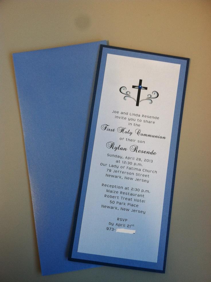 Baptism Invitations Kits