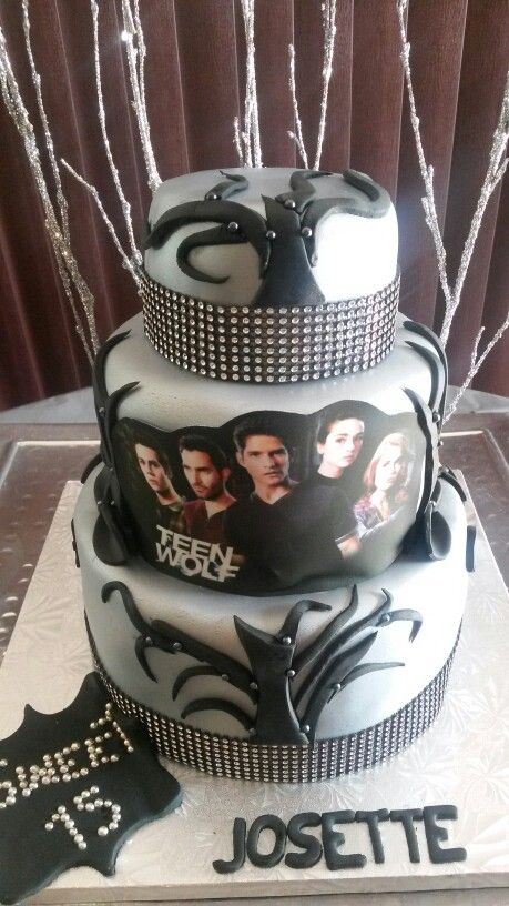 Teen Wolf Cake Cakes Pinterest Wolves Wolf Cake And