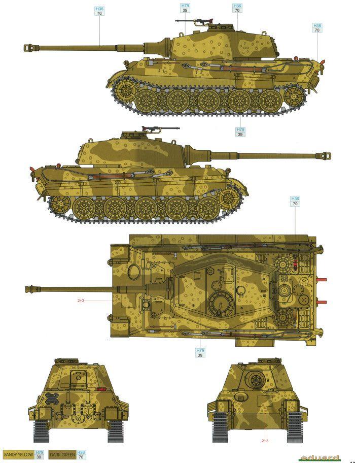 Camouflage Schemes Tiger 1
