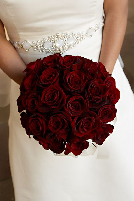 Simple Fall Bridesmaid Bouquets