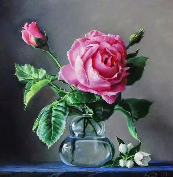 Hyper Realistic Flower Masterpieces by Pieter Wagemans ...