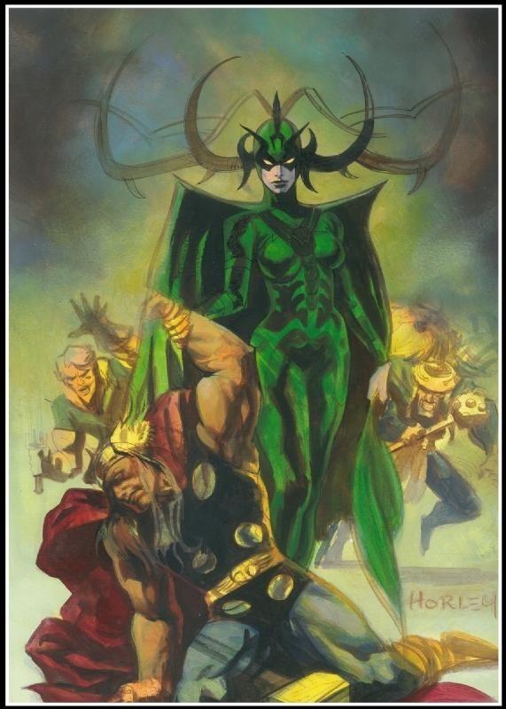 Thor World Asgardians Dark