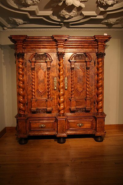 Antique Wood Carved Settee