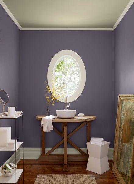 Purple Gray Paint Schemes Google Search Bedroom