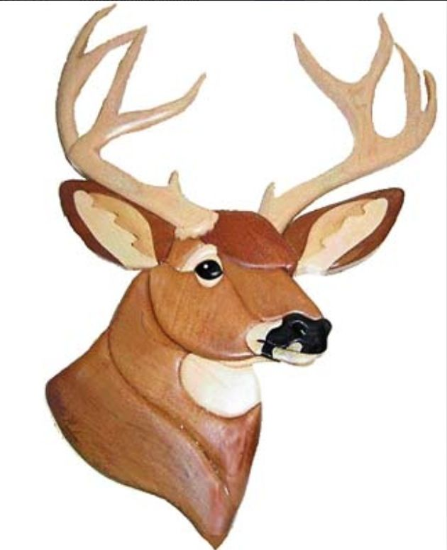 Deer Head Patterns Woodworking