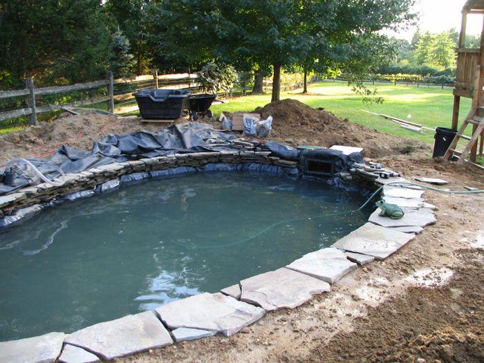 Koi Fish Pond Construction