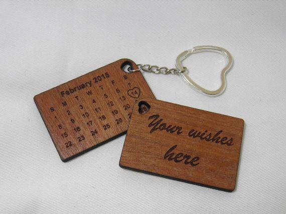 Fall Keychain Wedding Favors