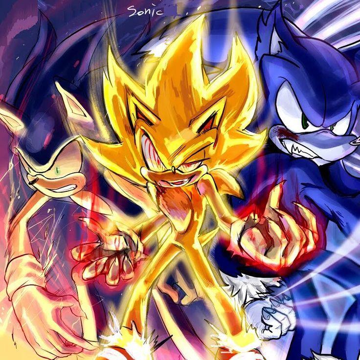Shadow Hedgehog All Unleashing His Power
