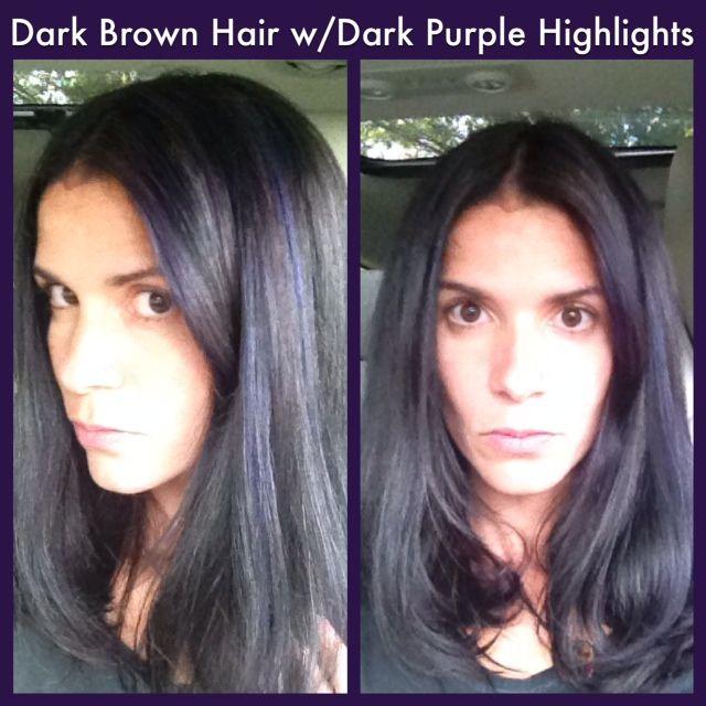 Vs Brown Hair Dark Black