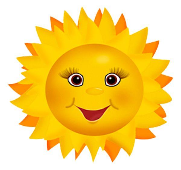 Happy Sunshine Clip Art
