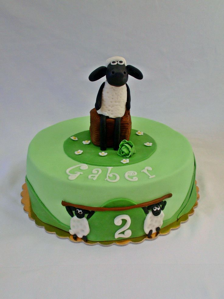 Shaun The Sheep Cake My Sweet Work Pinterest The O