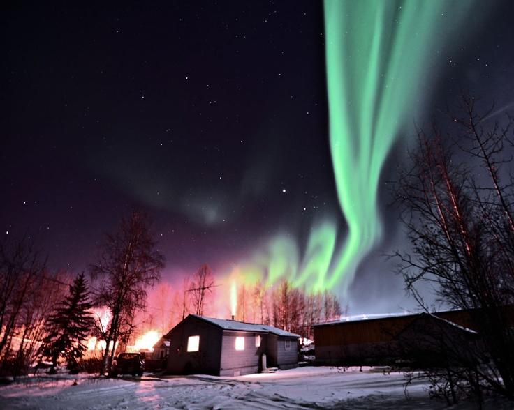 Fairbanks Alaska Best Time See Northern Lights